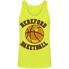Hereford basketball tank