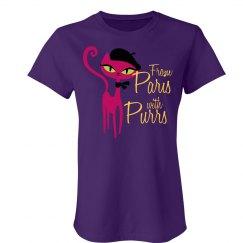 Parisian Purrs Tee