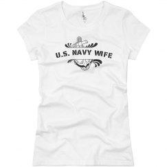 U.S. Navy Wife Tee