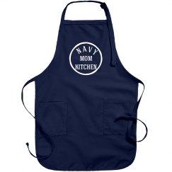 Navy mom kitchen