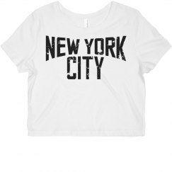 New York Crop Top