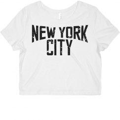 New York Crop Top