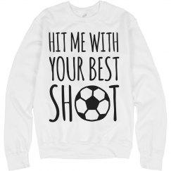 Funny Soccer Girl