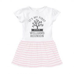 Baby's First Family Reunion Custom Dress