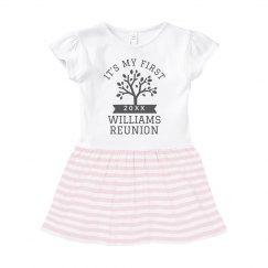 Baby's First Family Reunion Custom Dress