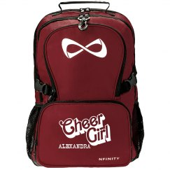 Alexandra. Cheer girl