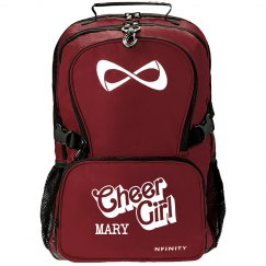Mary. Cheer girl