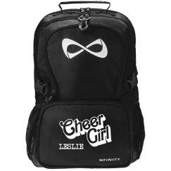 Leslie. Cheer girl
