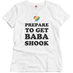 Gay Pride Prepare To Get Baba-Shook