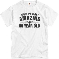 Amazing 80 year old