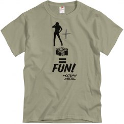 MODELING IS FUN UNISEX SHIRT