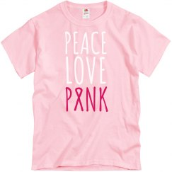 Peace Love Pink