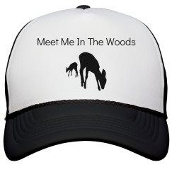 meet me in the woods hat