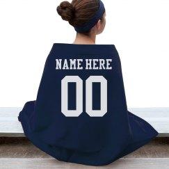 Custom Sports Mom Blanket