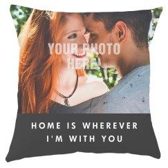 Custom Photo Romantic Home Gift
