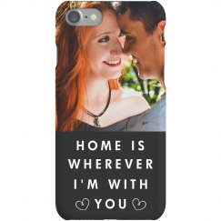 Custom Upload Couples Phone Case