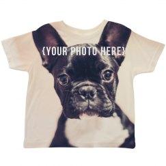 Custom Photo Upload Toddler Shirt