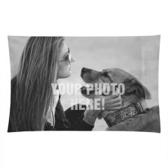 Custom Upload Pillow Case