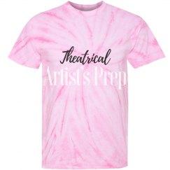 Adult Tie-Dye Cyclone Pinwheel Tee _ Pink