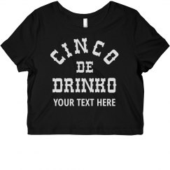 Cinco de Drinko Custom Bar Group