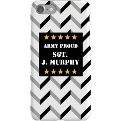 Army Proud iPhone Case