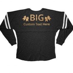 Custom Gold Big Little Designs