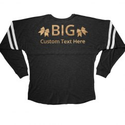Custom Gold Big Little Designs