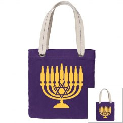 Yellow Menorah