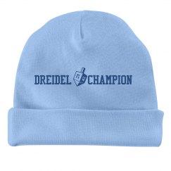 Dreidel Champion Baby Hat