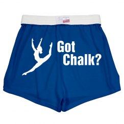 Got Chalk Short