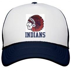 Indians Snapback Trucker