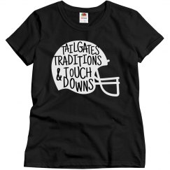 Tailgates Traditions & Touchdowns Football