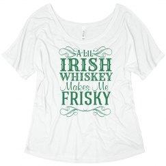 Irish Whiskey Frisky
