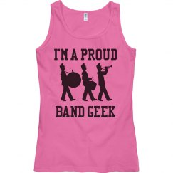 Band Geek Tank Top