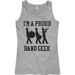 Band Geek Tank Top