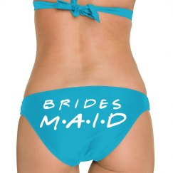 Bridesmaid booty blue