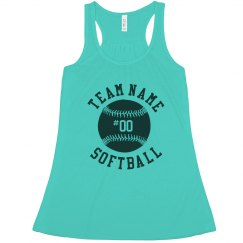 Softball Grandma Custom Player No.