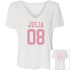 Womens - Julia Marrero Birthday Shirts