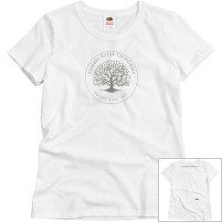 Endless Acres Farmtiques - new logo -Womens shirt