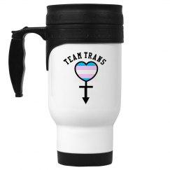 Team Trans Stainless Steel Coffee Mug