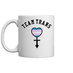 Team Trans Ceramic Coffee Mug