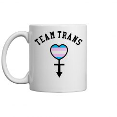 Team Trans Ceramic Coffee Mug