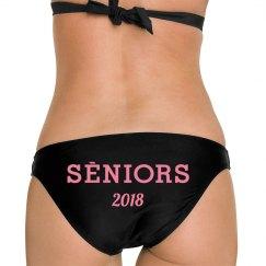 2018 Senior Logo Bikini Bottom