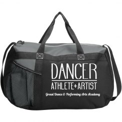 GDPAA Dance Duffle Bag Red & Black
