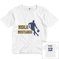 Youth Midlo basketball