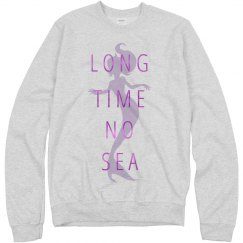 Metallic Mermaid Puns Sweatshirt
