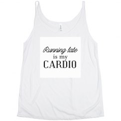 Running Late Slouchy Tank