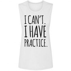 I Can't Softball Practice