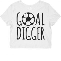 Goal Digger Soccer Girl Humor