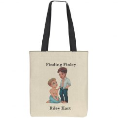 Finding Finley Bag Black and White